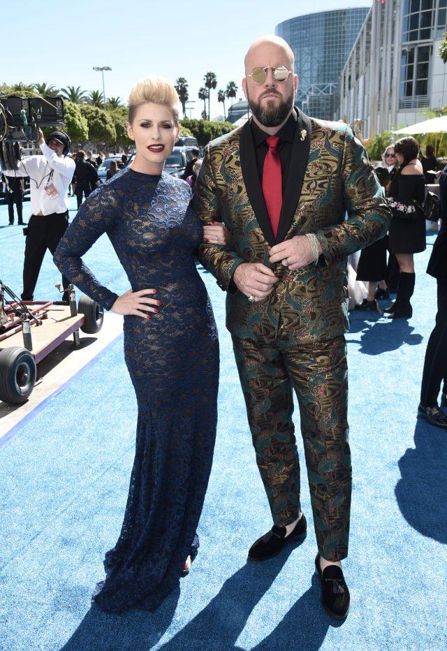 Rachel Reichard, Chris Sullivan Emmys 4Chion LIfestyle