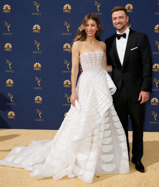 Jessica Biel, Justin Timberlake Emmys 4Chion Lifestyle
