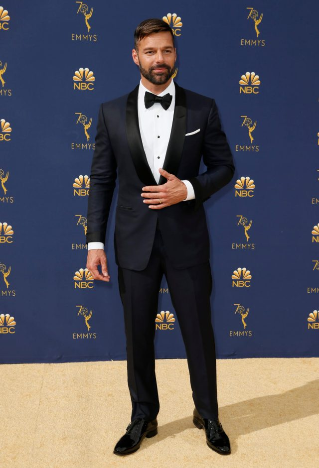 Ricky Martin Emmys 4Chion Lifestyle