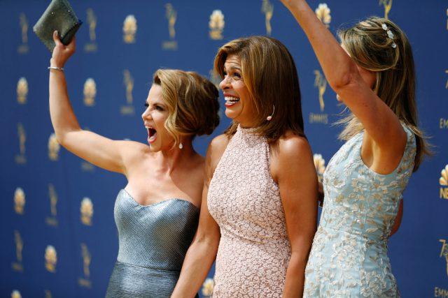 Natalie Morales, Hoda Kotb Savannah Guthrie Emmys 4Chion Lifestyle