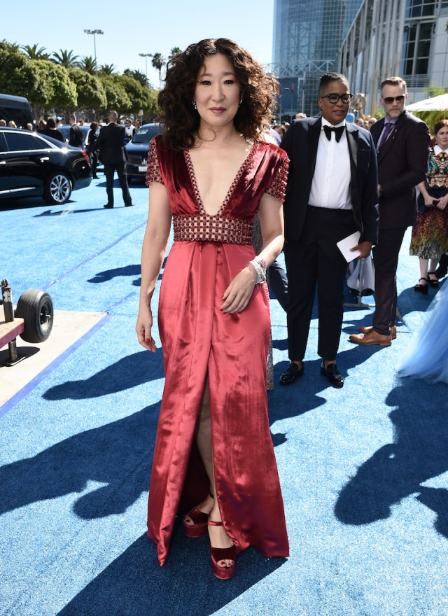 Sandra Oh Emmys 4Chion Lifestyle