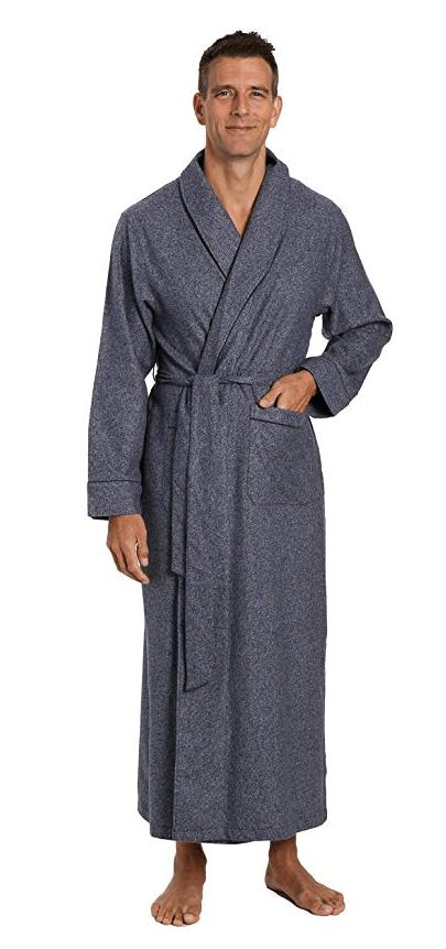 Mens Robe Classic Plaid amazon holiday ad 4chion lifestyle