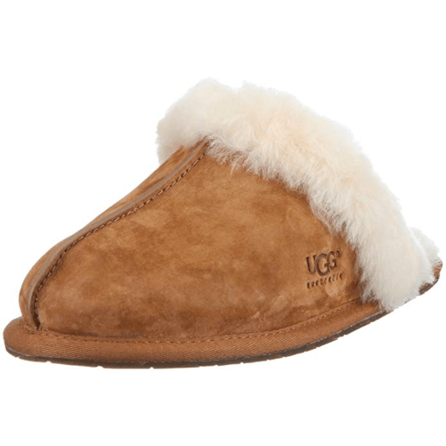 UGG Women's Scuffette II Slipper amazon ad holiday 4chion lifestyle