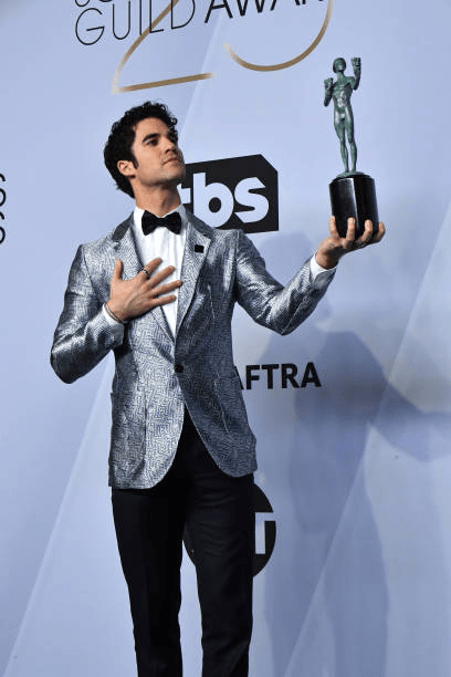 Darren Criss SAG Awards 4chion lifestyle