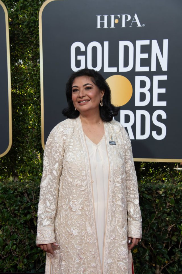 HFPA President Meher Tatna Golden Globes 4Chion Lifestyle Party