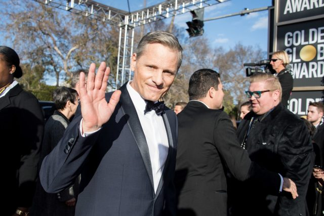 Viggo Mortensen Golden Globes 4chion Lifestyle Party