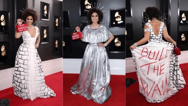 Joy Villa Grammy Red Carpet Fashion 4chion lifestyle