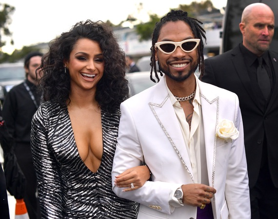 Nazanin Mandi Grammy Red Carpet Fashion 4chion lifestyle