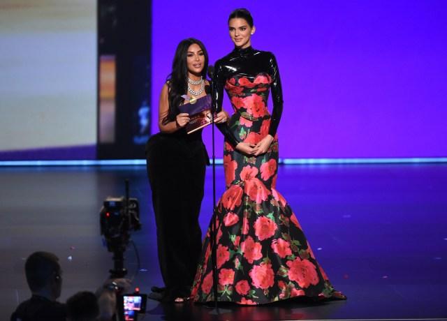 Kim Kardashian West, Kendall Jenner 4chion lifestyle Emmys®