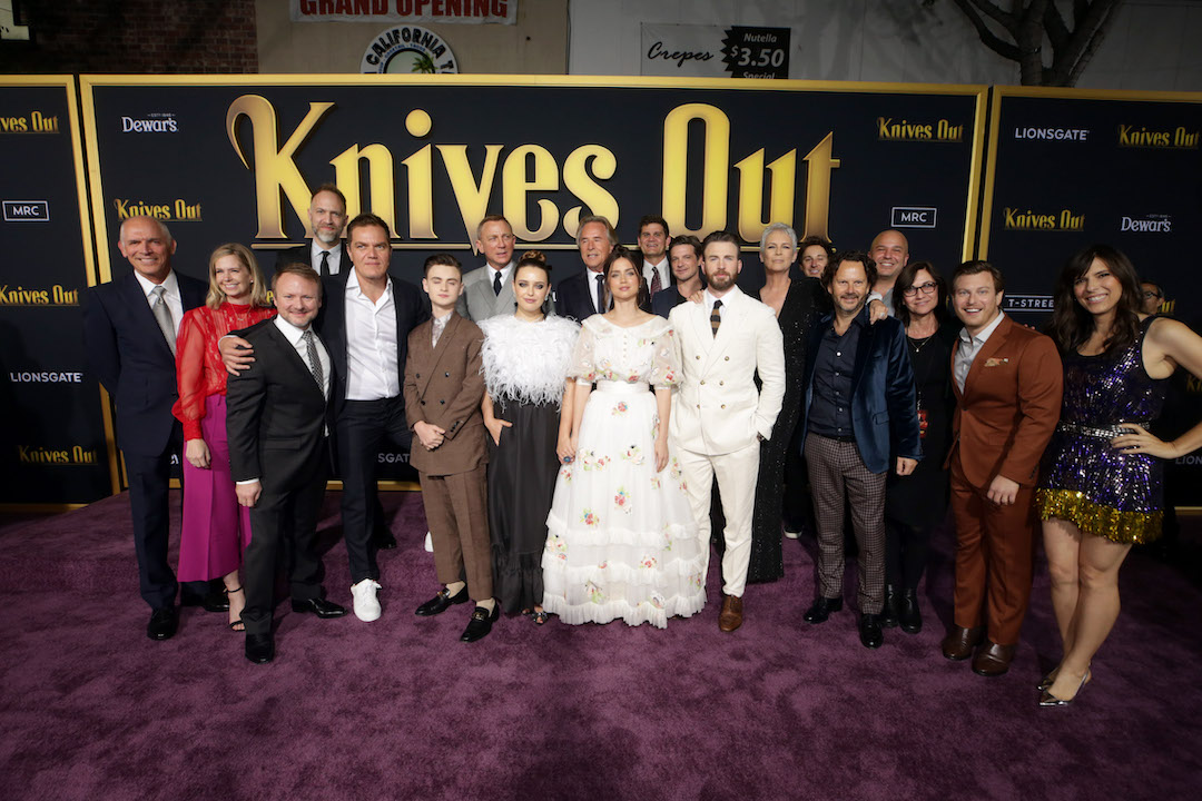 Cast and crew of 'Knives Out'