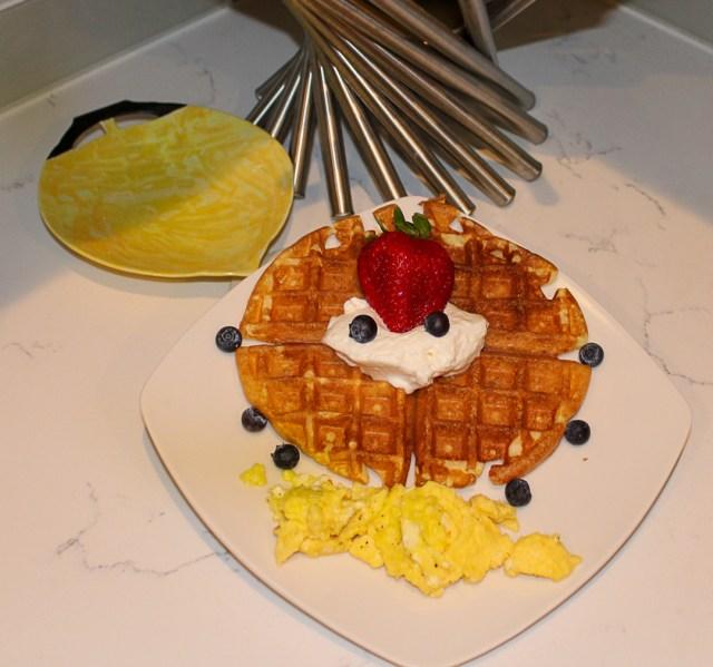 Waffle Recipe 4Chion Lifestyle
