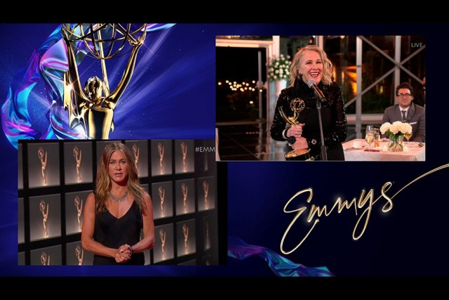 Jennifer Aniston Emmys® Outstanding Lead Actress Catherine O'Hara 4Chion Lifestyle Panemmies
