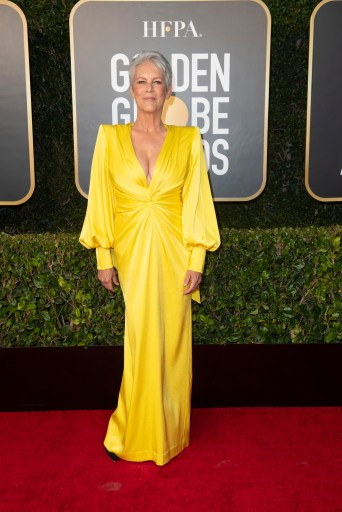 Jamie Lee Curtis Golden Globes Sean James 4Chion Lifestyle