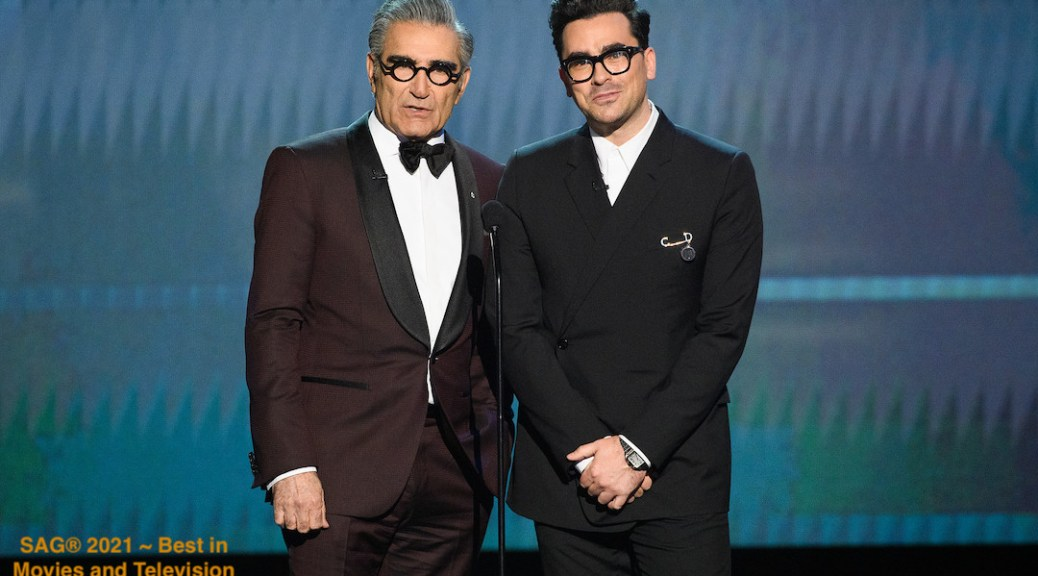 Eugene Levy and Dan Levy 2020 SAG Awards® 4Chion Lifestyle