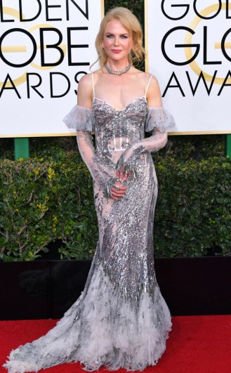 Nicole Kidman Golden Globe Red Carpet