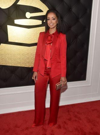 Mya Grammys Red Carpet