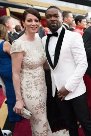 Jessica Oyelowo and David Oyelowo arrive at The 89th Oscars® at the Dolby® Theatre in Hollywood, CA on Sunday, February 26, 2017.