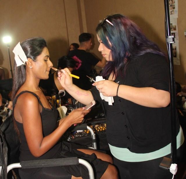 April Love Pro Makeup Academy Backstage