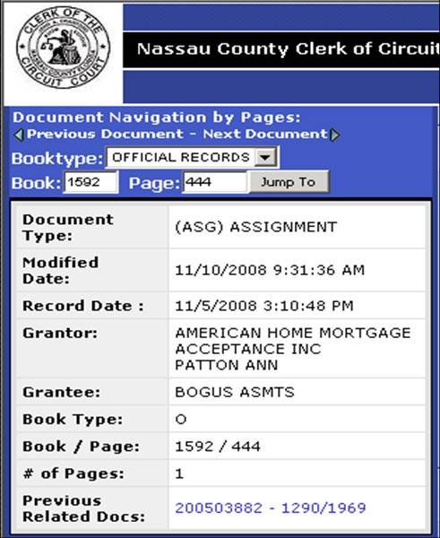 Enough Is Enough! Docx Assignment Of Mortgage – Bogus Assignee For