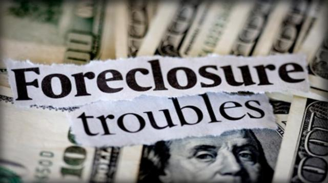 Foreclosure Trouble