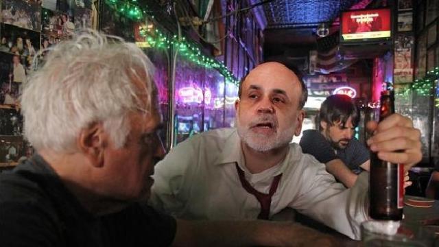 Hammered Bernanke