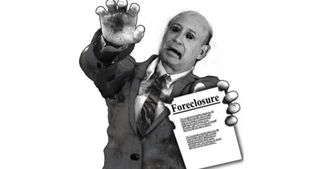 Buy a paper zombie foreclosure