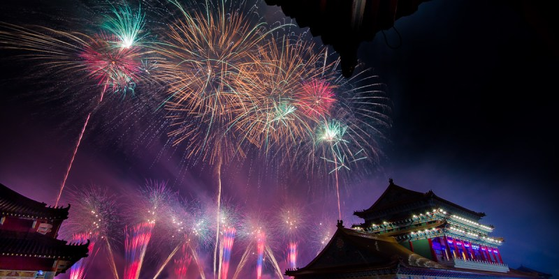 【鹿耳門聖母廟煙火】2020台南土城正統鹿耳門聖母廟!一年一度國際高空元宵煙火~