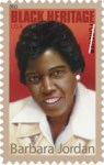 Barbara Jordan stamp