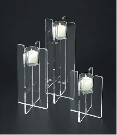 Acrylic Candle Holders From Connies Creations McHenry