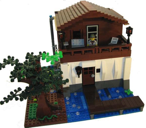 Как сделать дом из Лего - инструкция, фото и видео