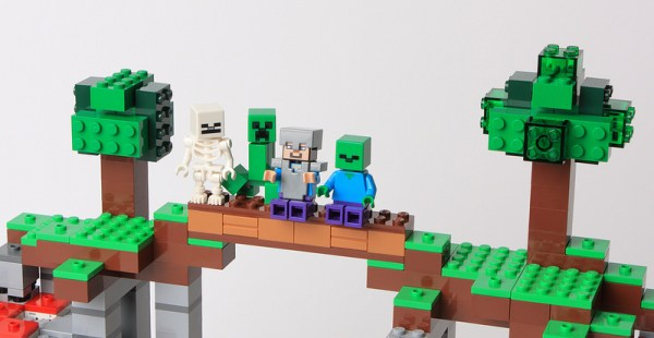 Лего Майнкрафт 21118 Шахта инструкция, обзор, картинки и ...