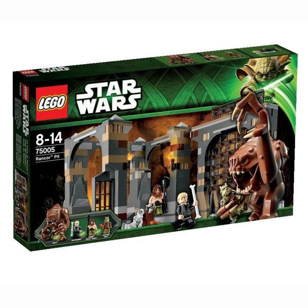 Лего Звездные войны 75005 Логово Ранкора инструкция, обзор ...
