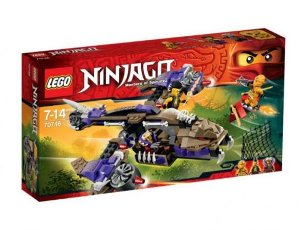 Лего Ниндзя го 70746 Вертолетная атака Анакондраев ...