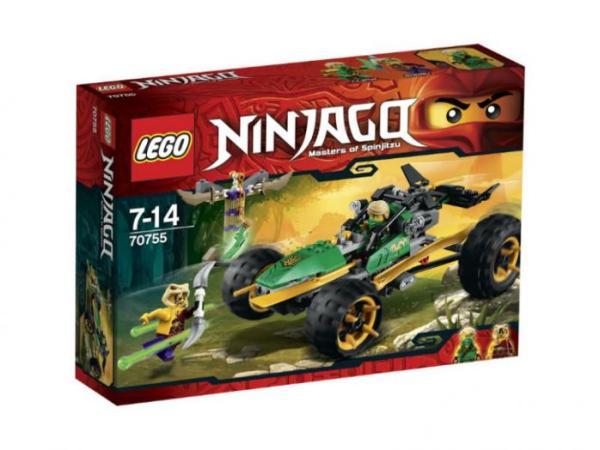 Лего Ниндзя го 70755 Тропический багги Зеленого ниндзя ...