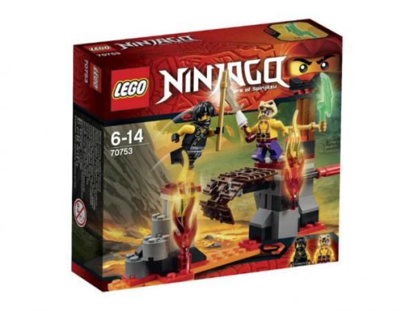 Лего Ниндзя го 70753 Сражение над лавой инструкция, обзор ...