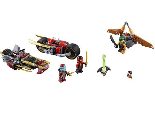 Лего Ниндзя го 70600 Погоня на мотоциклах инструкция ...