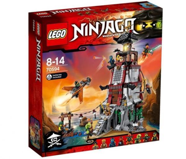 Лего Ниндзя го 70594 Осада маяка инструкция, обзор ...