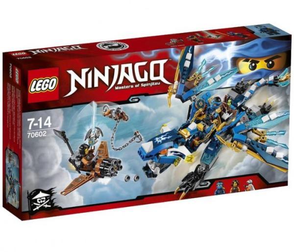 Лего Ниндзя го 70602 Дракон Джея инструкция, обзор ...