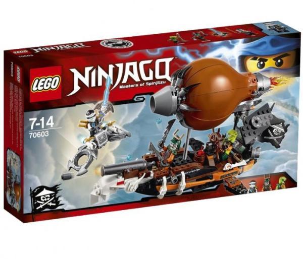 Лего Ниндзя го 70603 Дирижабль-штурмовик инструкция, обзор ...