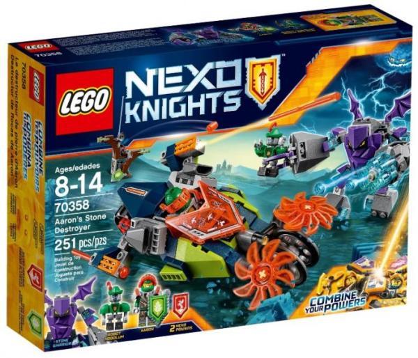 Лего NEXO Knights 70358 Слайсер Аарона инструкция, обзор ...