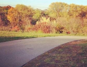 Photo of the week: spring bike trail