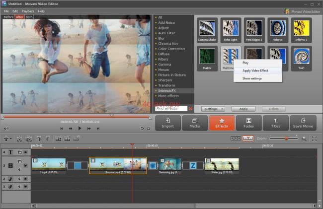Movavi Video Editor 14.5.0 Crack with Serial Key