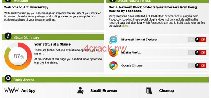 Abelssoft Antibrowserspy Pro Review With License Key and Ferr Download
