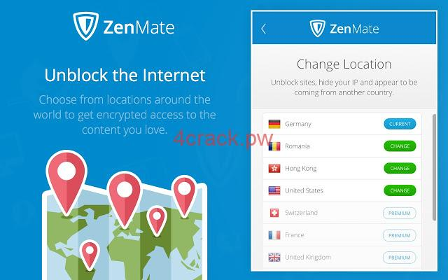 Zenmate Premium 2020 Crack With Full Version of Activation Code