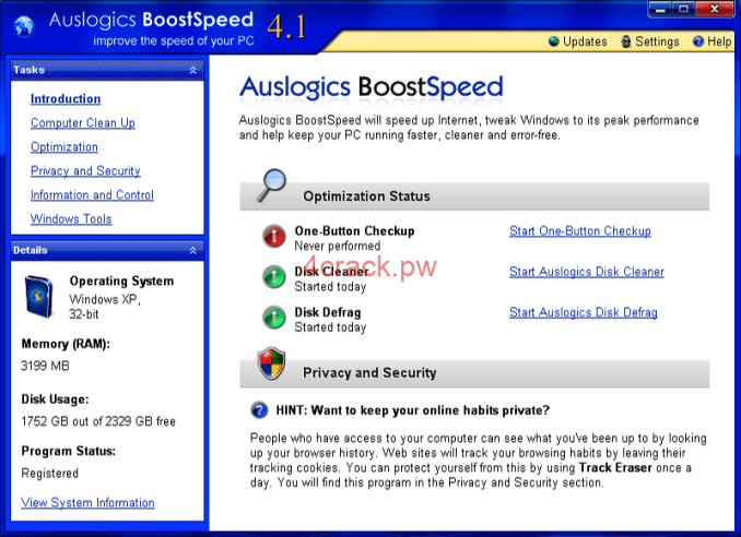 Download Auslogics BoostSpeed 10.0.22.0 Product With license Key