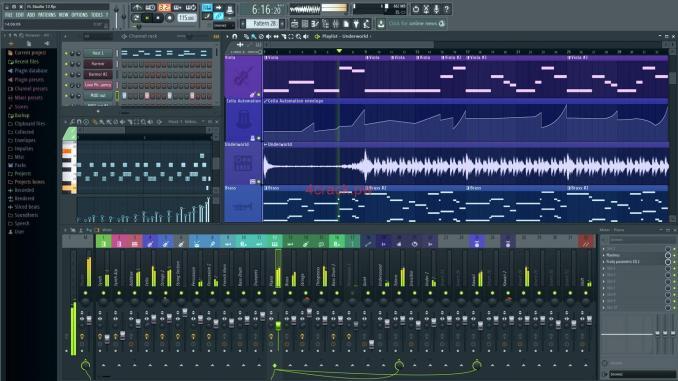 FL Studio 20.1.2 Build 887 Crack Full Free Download For Mac/Windows