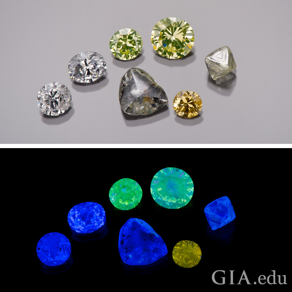 Is Diamond Fluorescence Good Or Bad