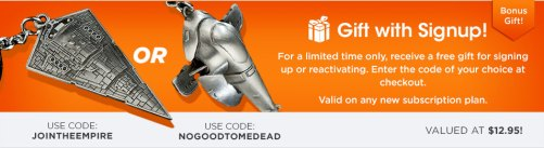 Loot Crate offer