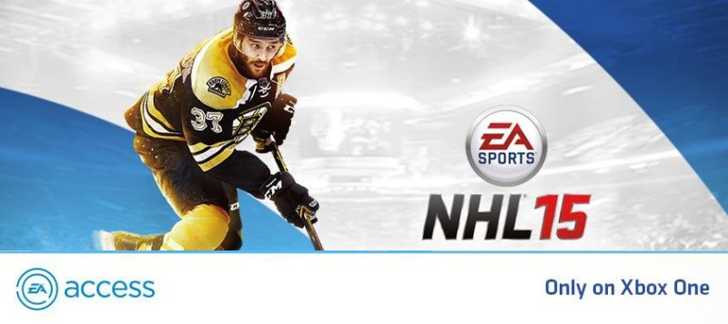 NHL 15 free on EA Access