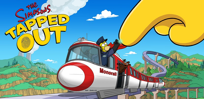 The Simpsons Tapped Out is getting a Monorail